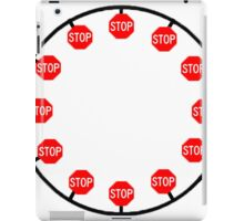 It's time to stop- Clock iPad Case/Skin