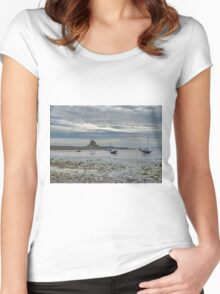Across The Mud Flats Women's Fitted Scoop T-Shirt