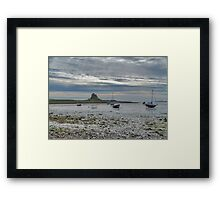 Across The Mud Flats Framed Print
