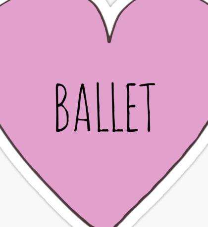 Ballet Love Sticker