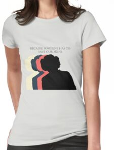 March for the Nasty Princess Womens Fitted T-Shirt