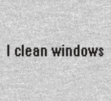 I clean windows Kids Clothes