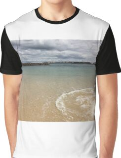 Beautiful clear water at Yarra Bay Beach Sydney, Australia  Graphic T-Shirt