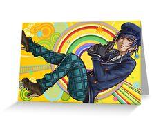 Dancing Detective Greeting Card