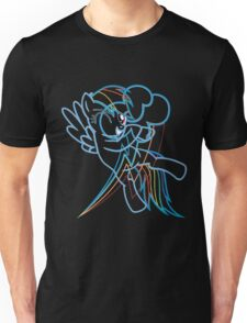 Rainbow Dash and Cutie Mark Unisex T-Shirt