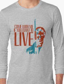 Kyle Reese Long Sleeve T-Shirt