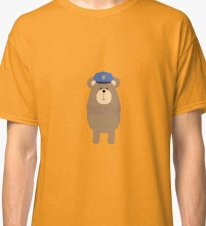 Brown bear Police Classic T-Shirt