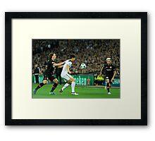 Football matters Framed Print