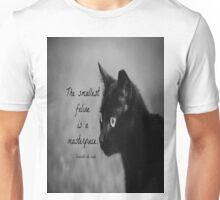 Feline Leonardo da Vinci Unisex T-Shirt