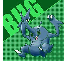 Heracross - Bug Pokemon Photographic Print