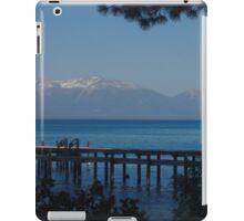 View of Lake Tahoe from Sugar Pine Point iPad Case/Skin