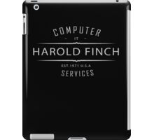 Person of Interest - Harold Finch Computer Services iPad Case/Skin
