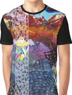 Mystery Mountains Graphic T-Shirt