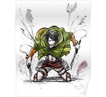 Levi from Shingeki no Kyojin Poster