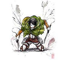 Levi from Shingeki no Kyojin Photographic Print