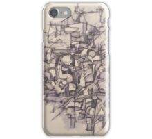 Abstract Pen and Ink iPhone Case/Skin