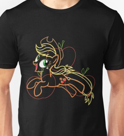 Apple Jack and Cutie Mark Unisex T-Shirt
