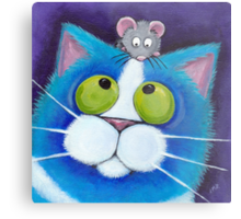 Blueberry and Wee Mousey Metal Print