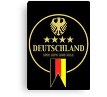 Deutschland Champions Canvas Print
