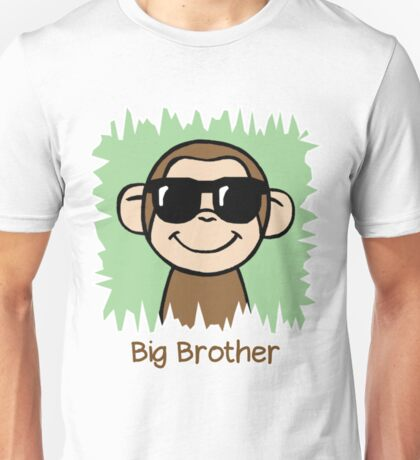 Monkey Big Brother - Big Brother T Shirts For Boys Unisex T-Shirt