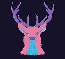 Cosmic Stag by HailyPrue