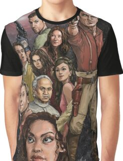 Firefly - All Hands on Deck Graphic T-Shirt