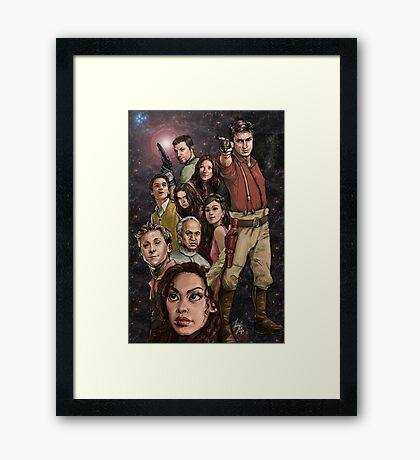 Firefly - All Hands on Deck Framed Print