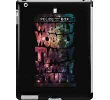 Time And Space iPad Case/Skin
