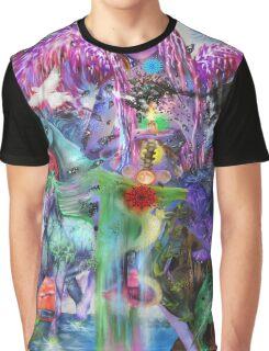 Visionary Art Angel New age Art Graphic T-Shirt