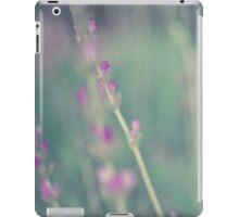 Lavender landscape iPad Case/Skin