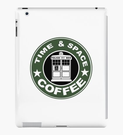 COFFEE: TIME AND SPACE iPad Case/Skin