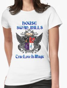 House Swan-Mills - True Love is Magic Womens Fitted T-Shirt