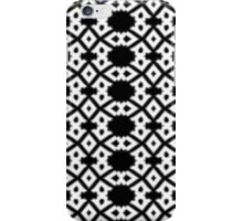 Arrows and Diamond Black and White Pattern 3 iPhone Case/Skin