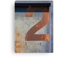 Two Rusty Canvas Print
