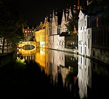 Bruges, Belgium by Ludwig Wagner