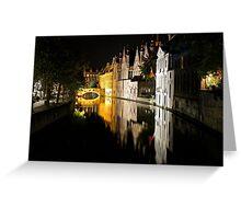 Bruges, Belgium Greeting Card