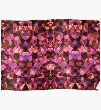 gothical crystals Poster