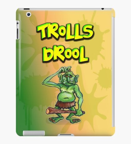 Trolls Drool iPad Case/Skin