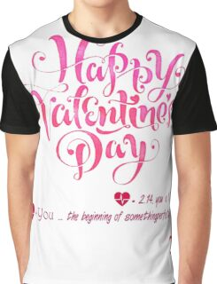 Pi Math Shirt For Couple in Valentine Graphic T-Shirt
