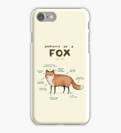 Anatomy of a Fox iPhone Case/Skin