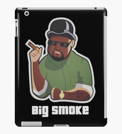 Big Smoke iPad Case/Skin