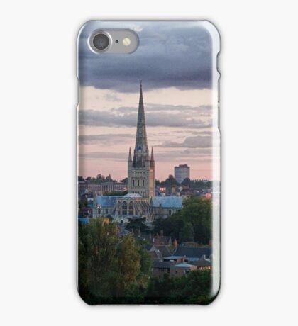 Norwich City Skyline iPhone Case/Skin