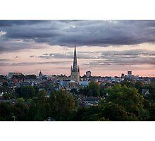 Norwich City Skyline Photographic Print