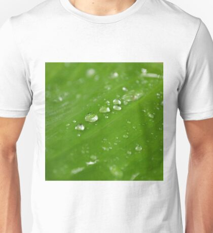 Water Droplets Unisex T-Shirt