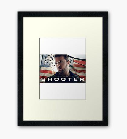 Shooter TV Show/Series Framed Print