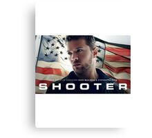 Shooter TV Show/Series Canvas Print