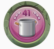 Glitch Achievement 3star cuisinartist Baby Tee