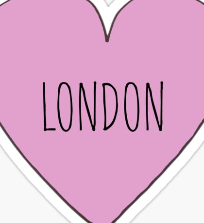 London Love Sticker