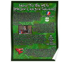How To MLG Poster Poster