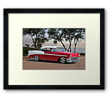 1956 Chevrolet Bel Air Hardtop II Framed Print